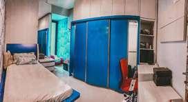 1 Set Furniture Kamar Cantik (Blue Ocean) (Harga Nego)
