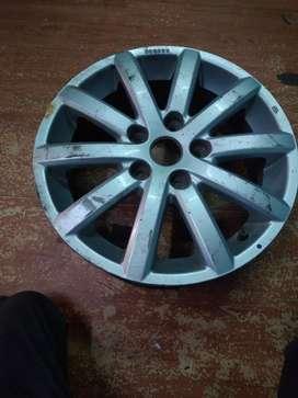 Mac wheel 5wheels , number size 16