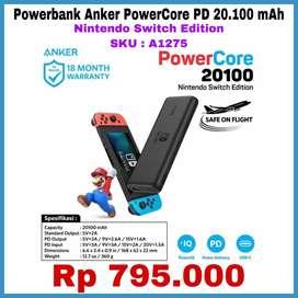 Powerbank Anker PowerCore PD 20.100 mAh - Nintendo Switch Edition