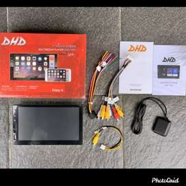 Double Din / Tape Mobil Android 7 inchi DHD 7001 ram 1gb Os 8