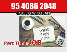Do a simple online work from Home.very easy typing