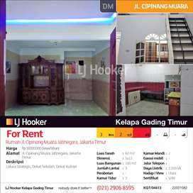Rumah Jl. Cipinang Muara Jatinegara, Jakarta Timur