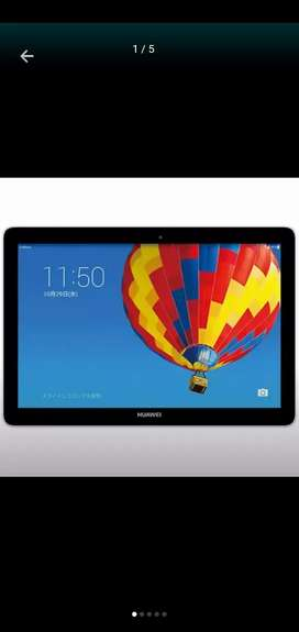 Huawei mediapad 10 link+ 1GB + 16GB with sim pta approved