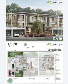 Rumah Mewah 6 M-an di Permata Hijau Residence, Jakarta Utara - PIK2