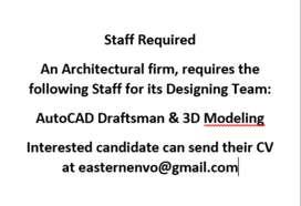 AutoCAD Draftsman & 3D Modeling