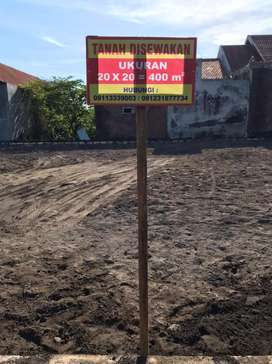 Disewakan tanah ukuran 400m Desa Balunggabus