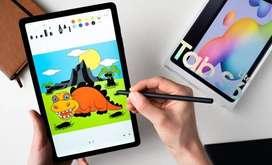 Samsung Galaxy Tab S6 Lite (SM-P615) 4/128GB Cash & KREDIT TANPA SURVE
