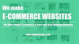 Make eye-catching and responsive website | E-commerce
