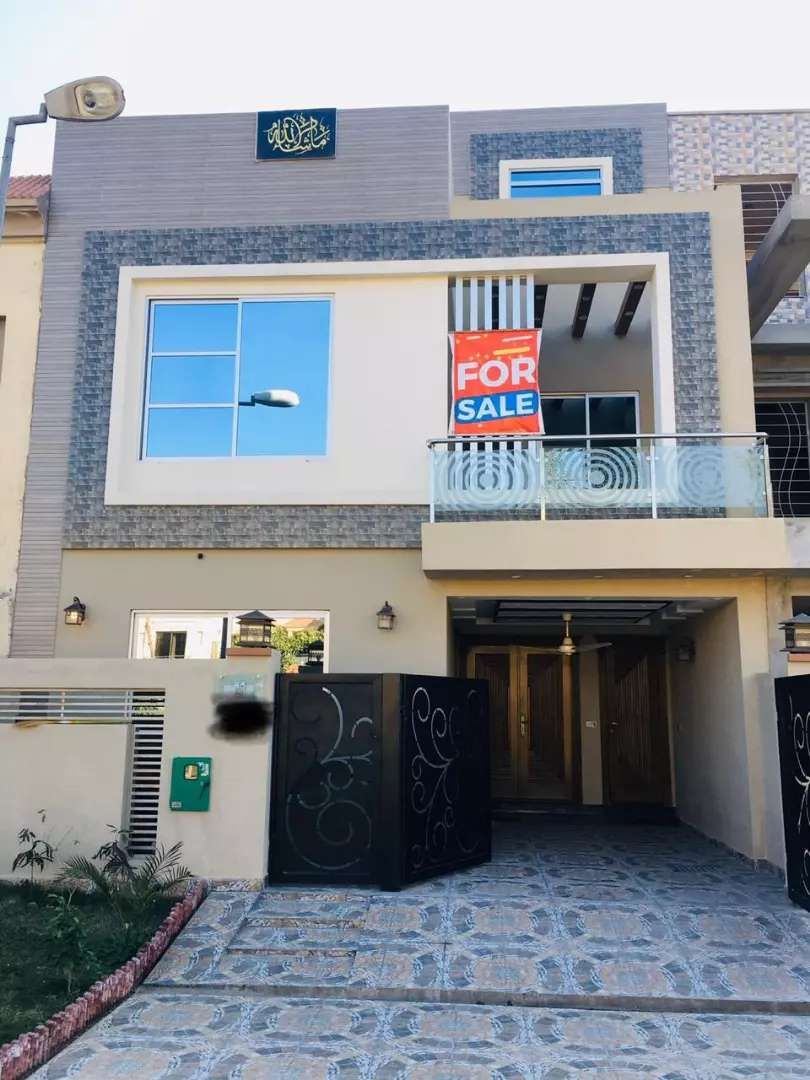 5 MARLA BRAND NEW HOUSE 4 SALE IN BAHRIA TOWN LAHORE 0