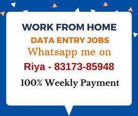 Earn monthly 30,000/- with simple data entry jobs. Apply now