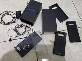 Samsung Note 8 (Dus, Headset, Case, Charger Original)