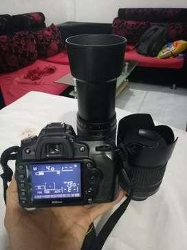 Dijual cepat dan lengkap Nikon D90 dan 2 lensa