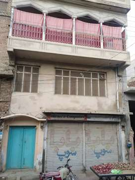 Commercail house k block with 2 shop