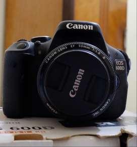 Canon EOS 600D + Canon EF-S 18-55 mm f/5.6 + Canon EF 50 mm f/1.8 fix