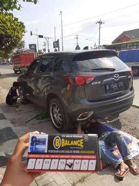 Mobil jd Lebih NYAMAN & STABIL stelah Pasang Peredam Guncangan BALANCE