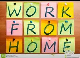 Home based job writing and typing