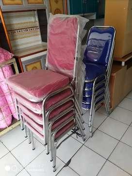 kursi stanlis sandaran dan dudukan busa