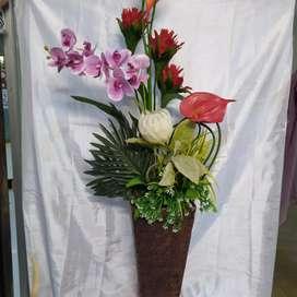 Rangkaian bunga utk segala ruangan n acara pun bisa