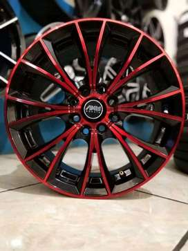 VELG RACING AMW RING15X6,5 H8PCD100/114,3 ET38 FOR AVANZA SIGRA IGNIS