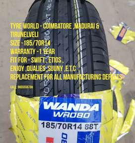 Wanda Tyres wholesale SPL discounts for TAXI CARS