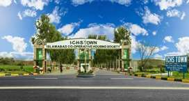 ICHS Town 5 Marla plot files Available for sale Lowe price