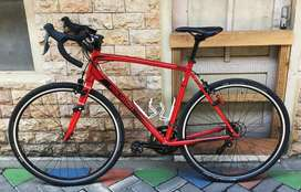 Polygon Strattos upgrade cyclocross Schwalbe Smart Sam.