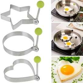 HS Cetakan Telur Goreng Puding Kue Pancake / Alat Masak Dapur