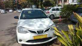 Uber ola attached Etios liva Cng condition good