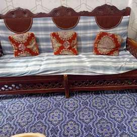 Condition 09/10. Pure wood sofa with two seaters .