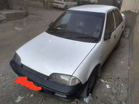 Suzuki margalla sedan model 1991