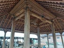 Pendopo Joglo Rumah Joglo Rumah Linasan Kayu Jati Ukiran Tumpangsari