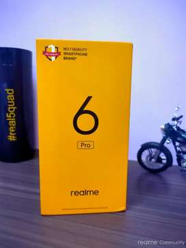 Realme 6 pro (6gb 128) seal pack