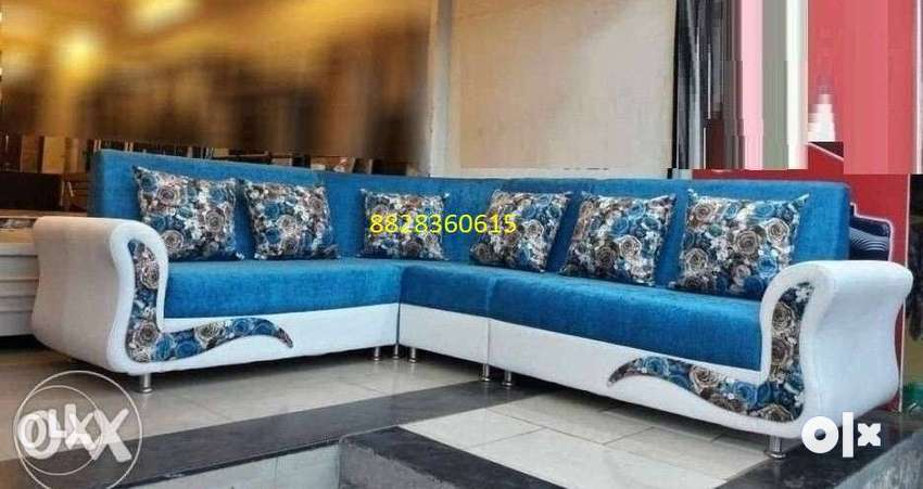 attrative colour sofa L shape 0
