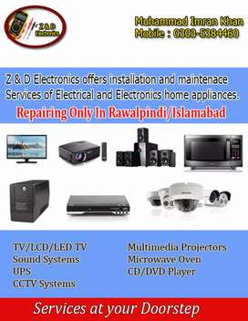 All electric & electronics home appliances installation & maintenance