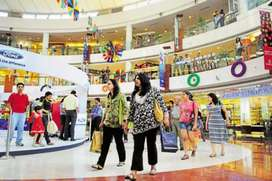 Urgent requirement for shopping mall male and female candidates...