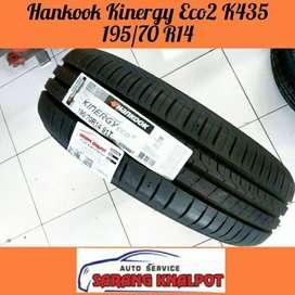 Ganti Ban 195/70 R14 Hankook Kinergy Eco mobil Kijang Cedric Innova