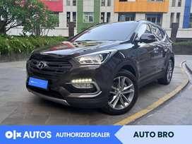 [OLX Autos] Hyundai Santa Fe 2.2 CRDi XG A/T 2017 Cokelat #Auto Bro
