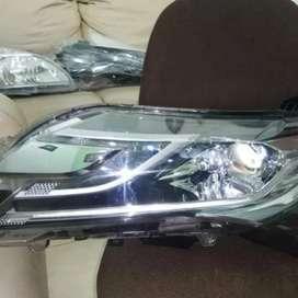 Headlamp lampu depan pajero sport 2016