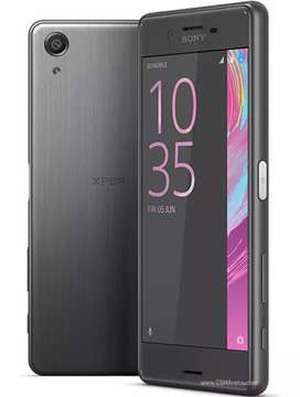 Sony xperia x perfomince water proof 3. 32 .23 mega .camera finger