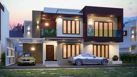 Luxury Villa/House for sale at Pappanamcode Tvm Corporation