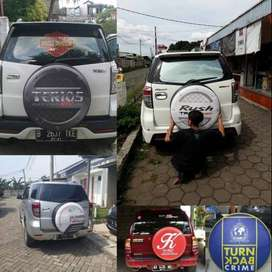 Cover/Sarung Ban Daihatsu Taft/Rush/Terios/Escudo/Mbl Jimny-Hummer Dll