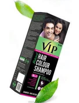 VIP Hair Color Shampoo (Black & Brown)