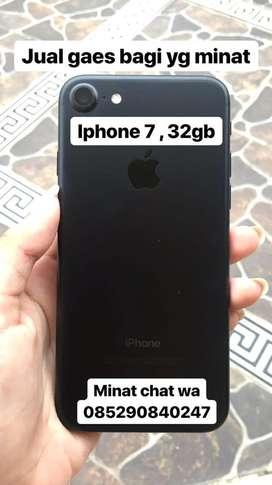 Jual iphone 7 black matte(32gb)