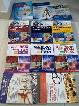 Medical books for of preparation