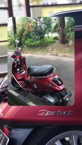 Sprint iget 2018, Merah Maroon Doff
