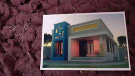 new house near to vyppin cherai main road good residential area