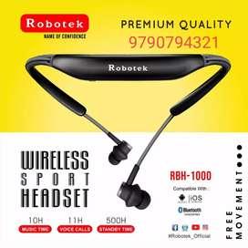 Robotek RBH-1000 Bluetooth head set new