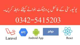 Contact Us for Final year projects -only web and Android Base