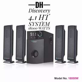 4.1 home theater system 18000 watts box pack// at 5999