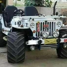 Modified open jeeps gypsy Thar